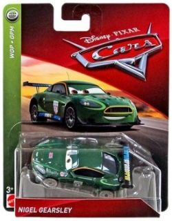 Disney Cars Carbon Racers - Nigel Gearsley