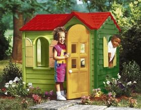 Little Tikes - Детска къща за игра Country Cottage Kid`s Playhouse Evergreen